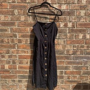 Simple sweet button front dress